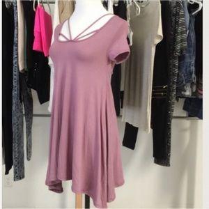 HP! April Spirit Strappy Cutout Dress / Tunic- S